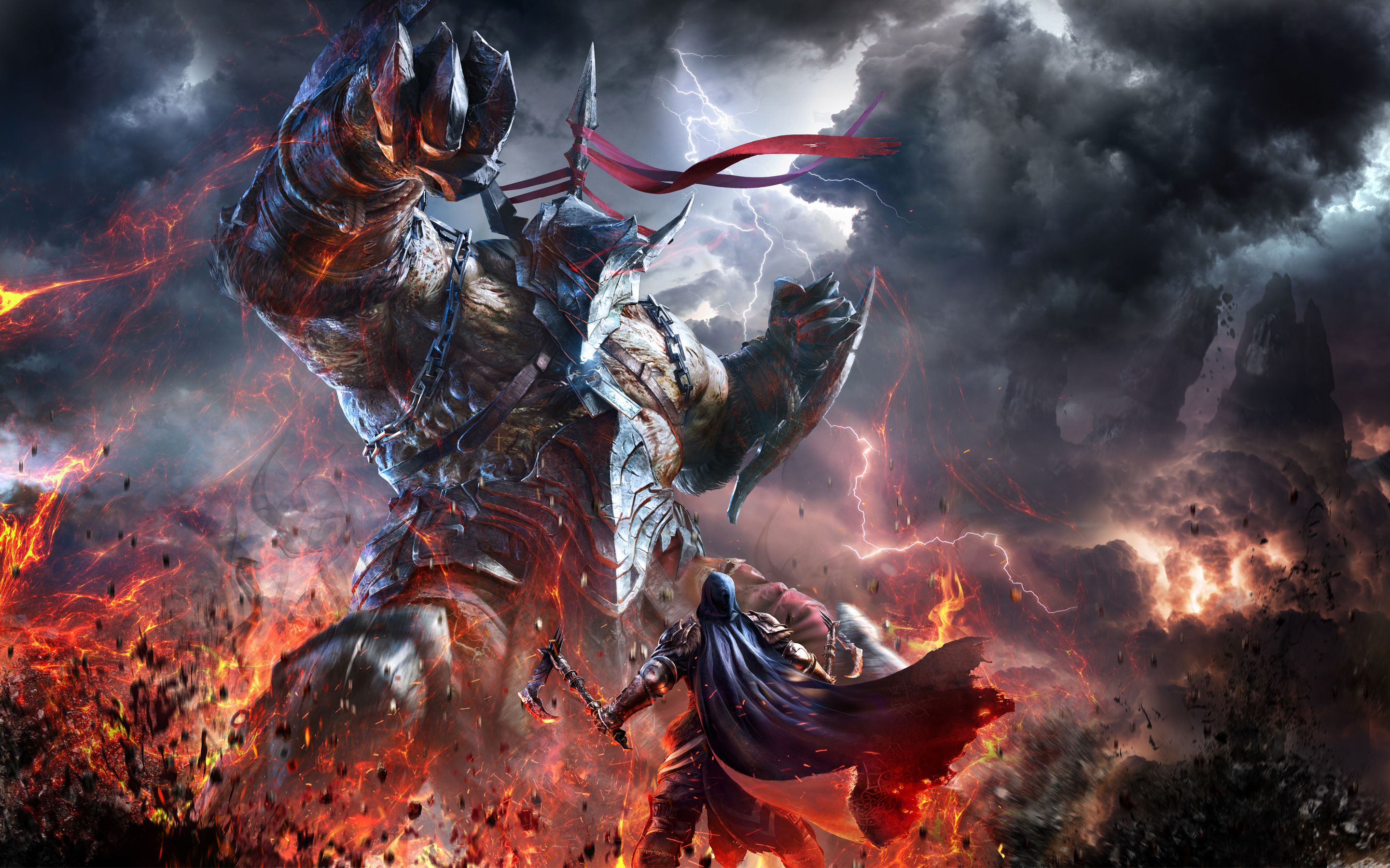 Lords of The Fallen Wallpapers HD Wallpapers 2880x1800