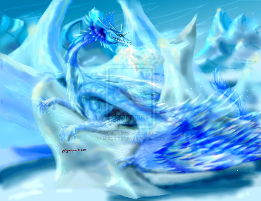 Drawings Of Ice Dragons 3 Wallpaper Background Hd With Resolutions 1024x791