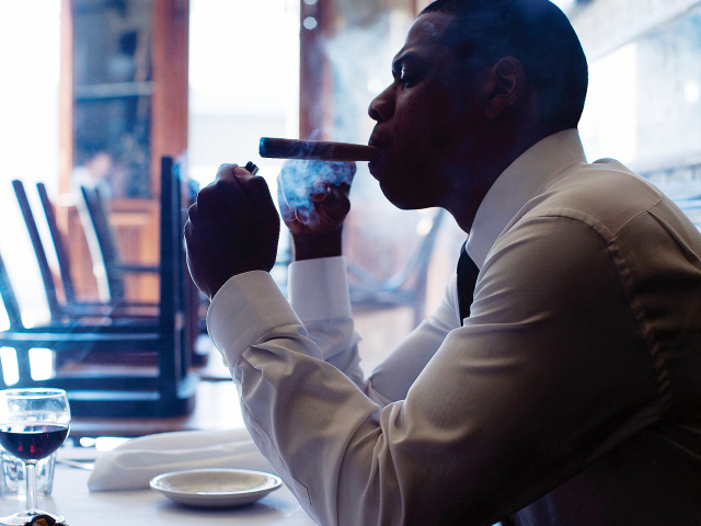 Jay Z with a cigar wallpapers and images   wallpapers pictures 640x480
