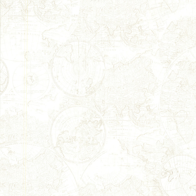 Download Cartography Off White Vintage World Map Wallpaper