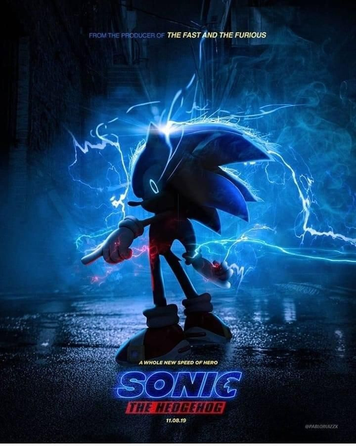 Free Download A Much Better Take On The Sonic Teaser Poster Sonic