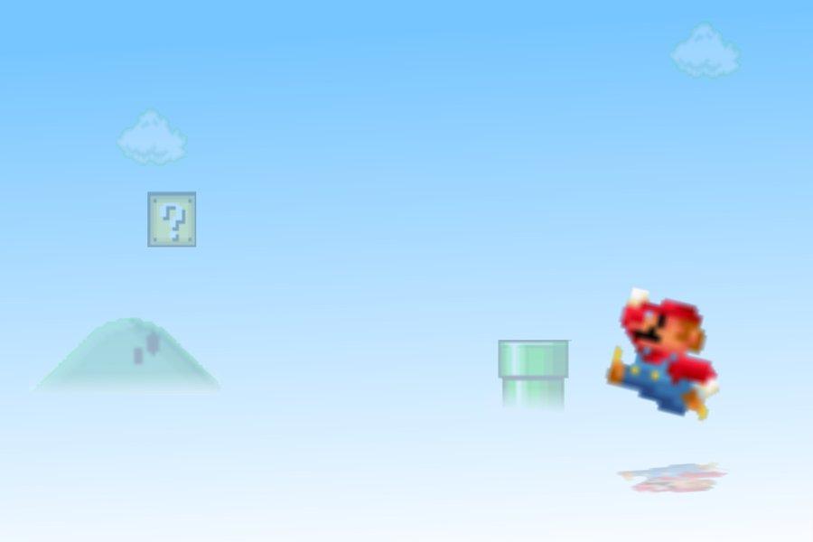 Bit Mario Wallpaper 8 Bit Mario Wallpaper by 900x600