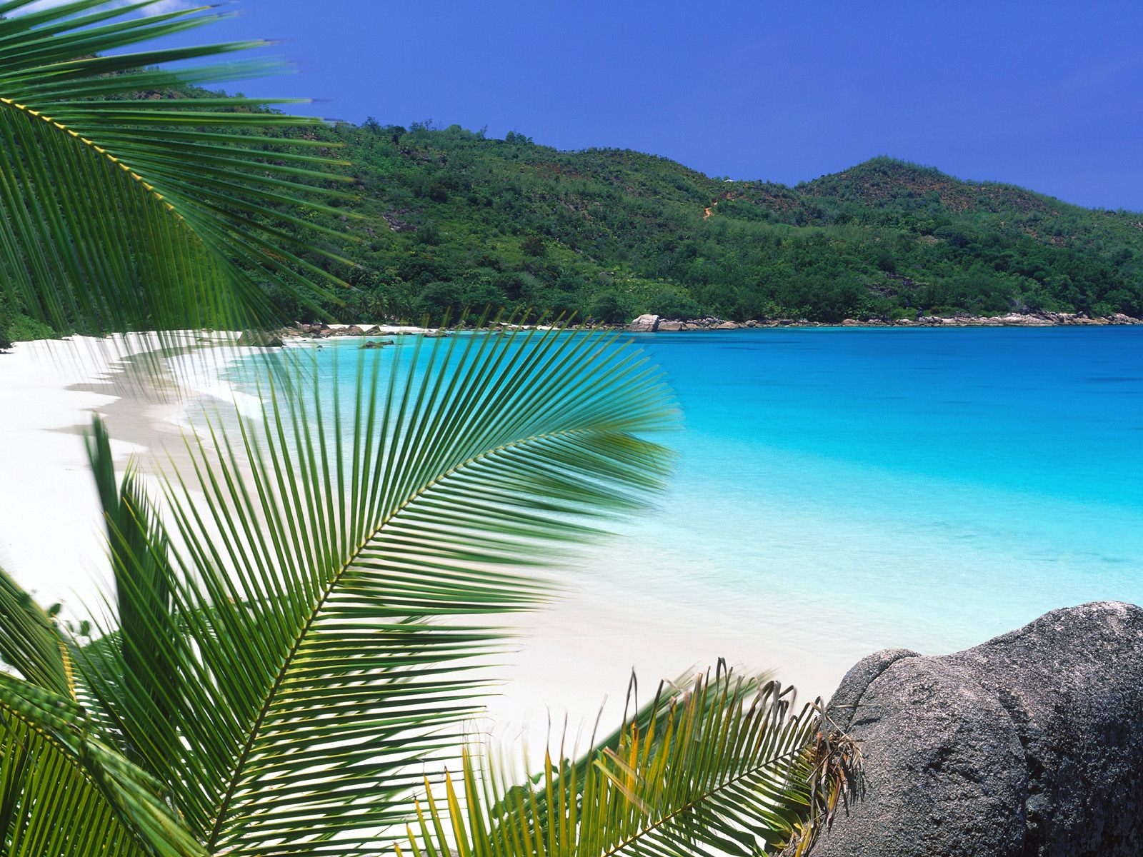 Tropical Beach Wallpaper Widescreen 1 1600x1200