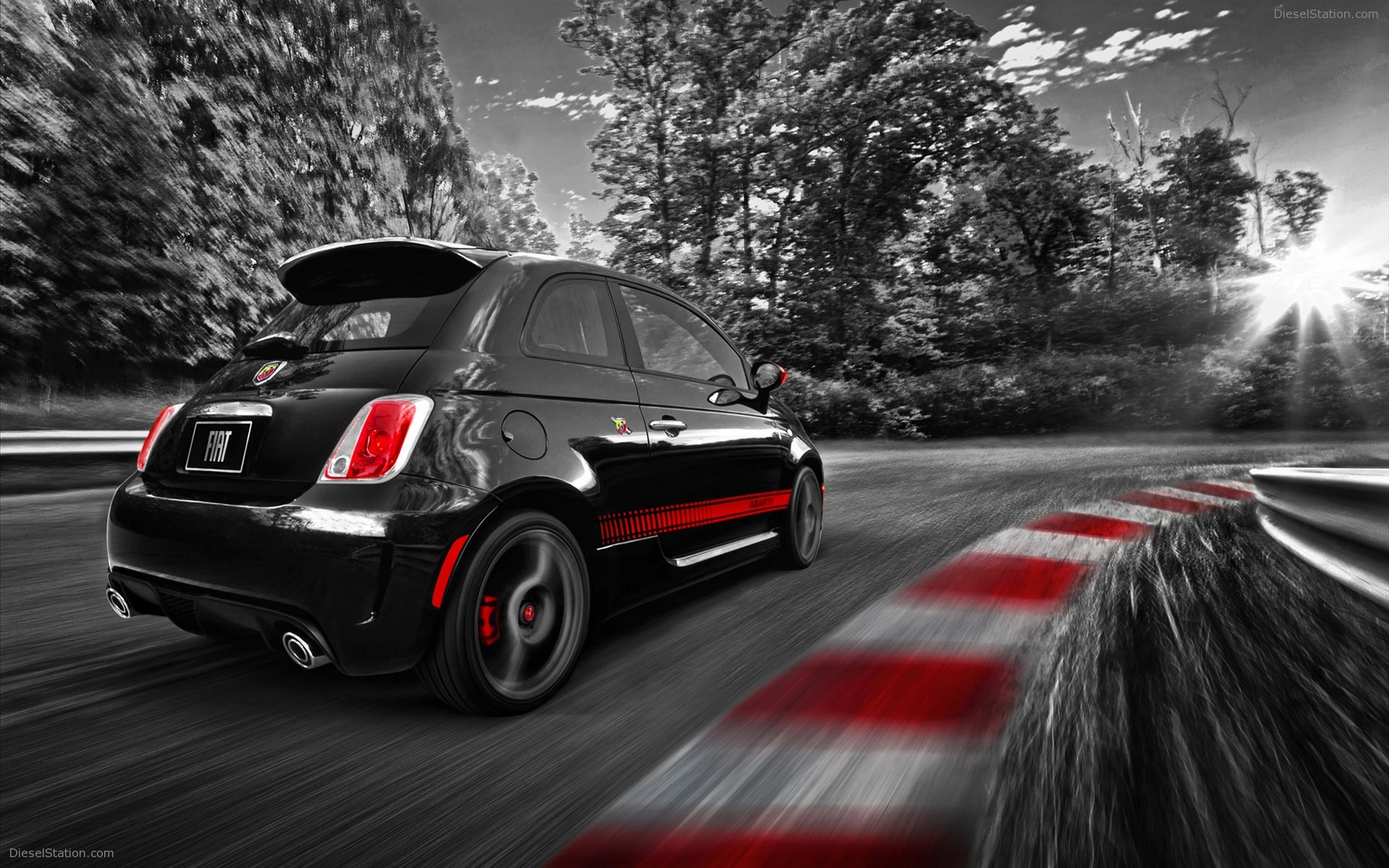 Fiat 500 Abarth 2012 Widescreen Exotic Car WallpapersBest Of The Best 1920x1200