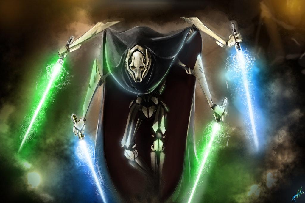 General Grievous Slays DEATH BATTLE by Trident346 1024x683