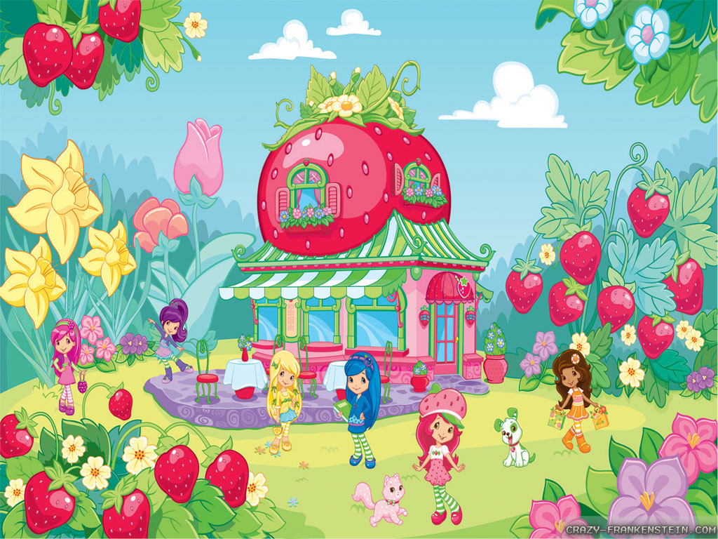 Pics Photos   Strawberry Shortcake Wallpaper 1024x768
