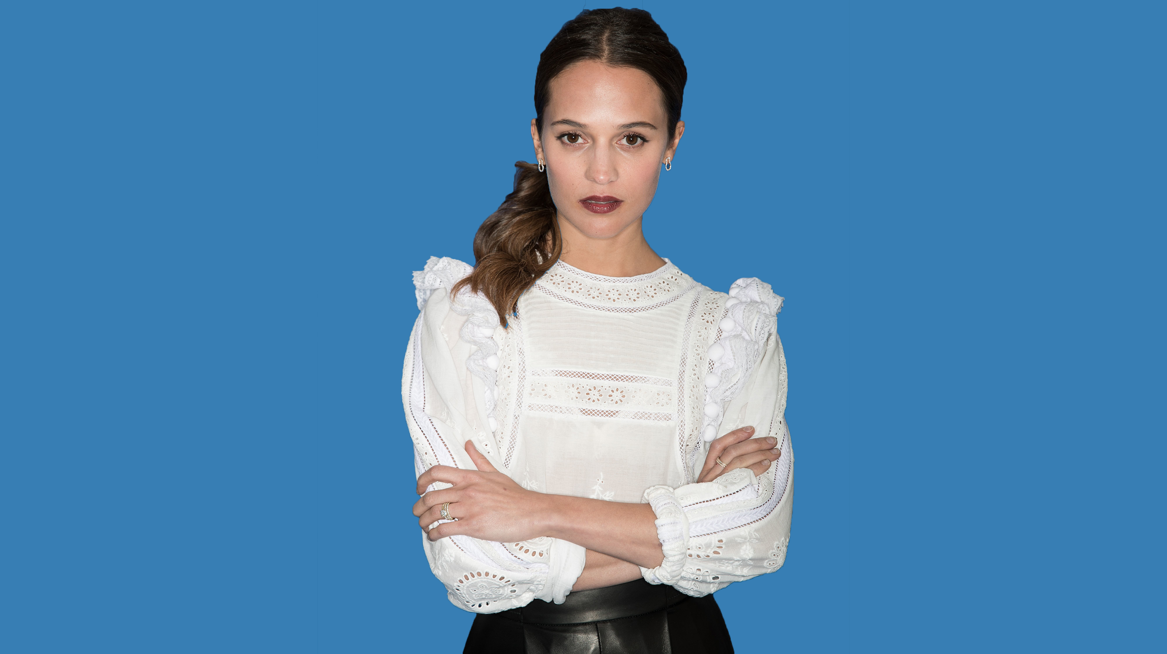 2019 Alicia Vikander Wallpaper HD Celebrities 4K Wallpapers 3763x2110