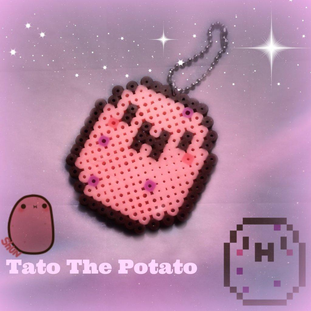 Tato The Potato Perler bead by Lunabunneh 1024x1024