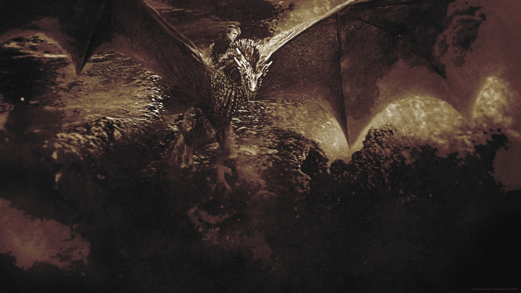 Game of Thrones   Tyrion Lannister Dragon by Brovvnie 1024x576
