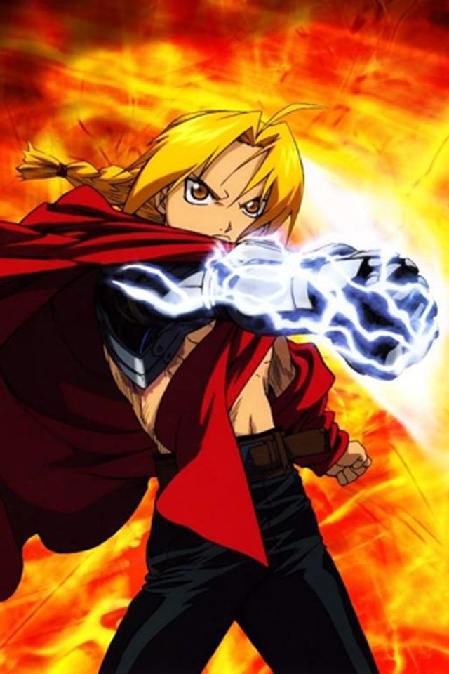 Full Metal Alchemist iPhone Wallpaper HD 640x960