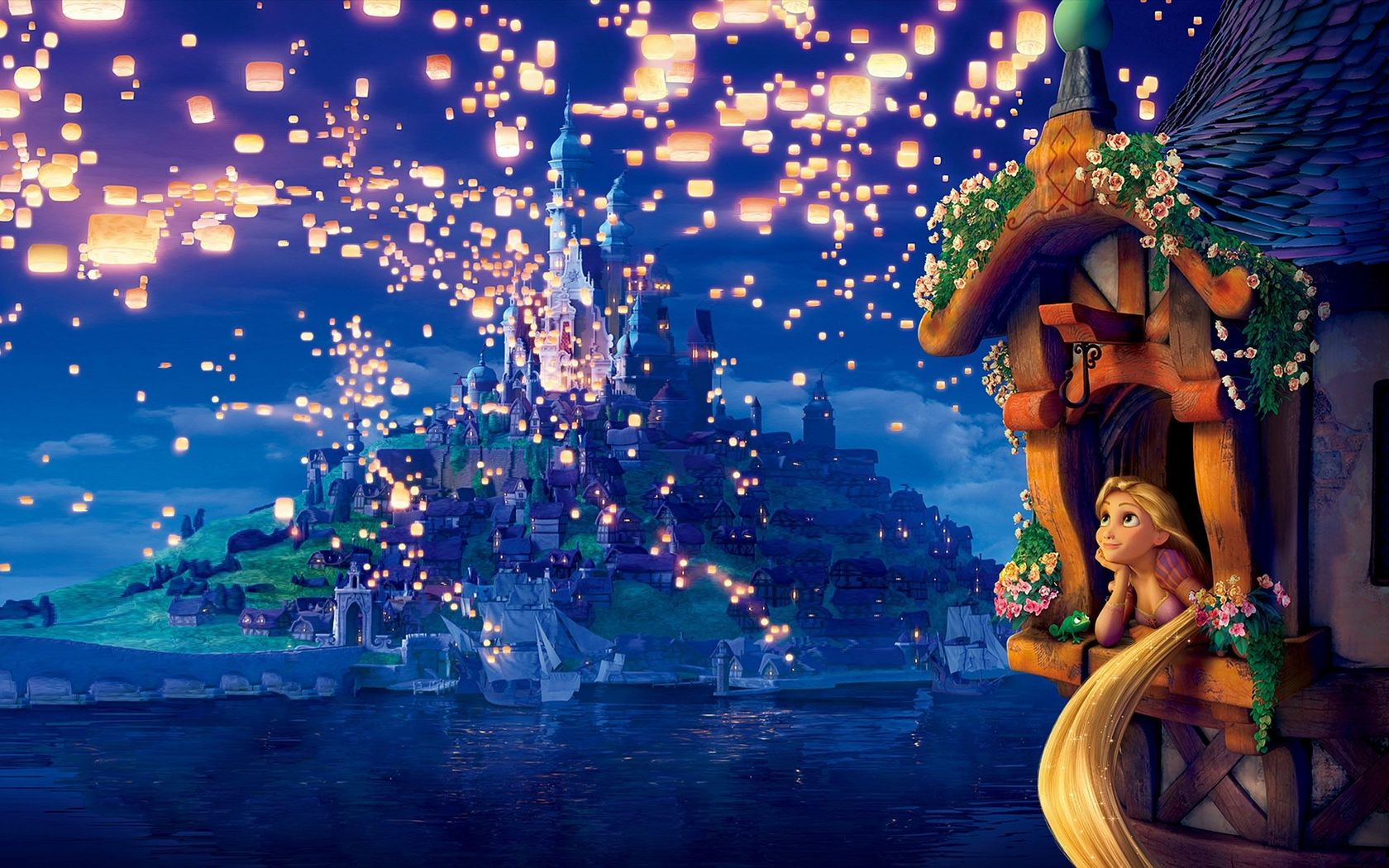 Rapunzel   Tangled wallpaper 18621 1680x1050