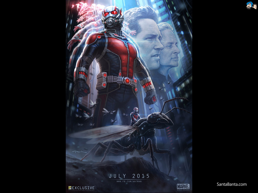 Ant Man Movie Wallpaper 4 1024x768