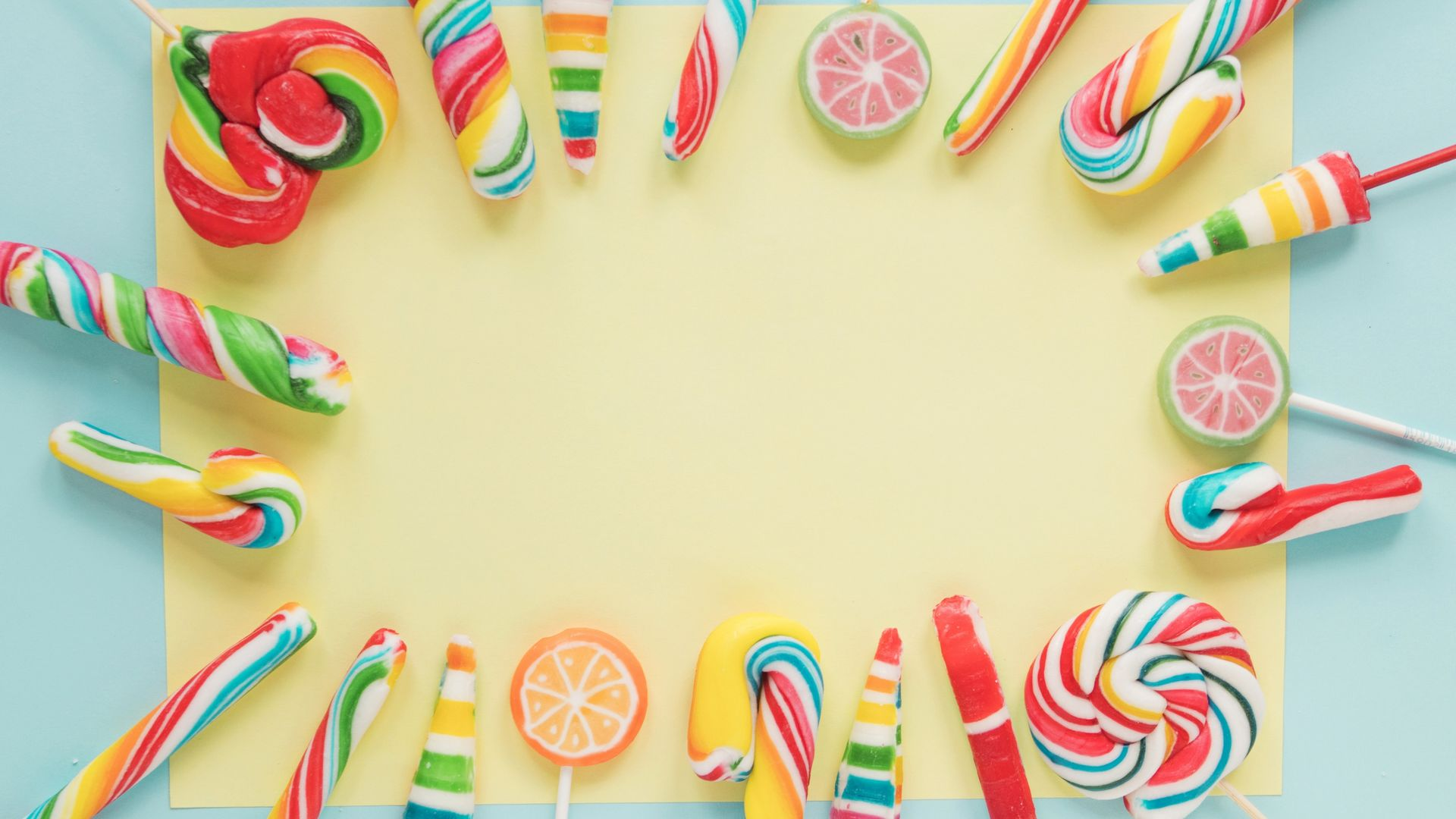 Candy Lollipops HD Wallpaper   Wallpaper Stream 1920x1080