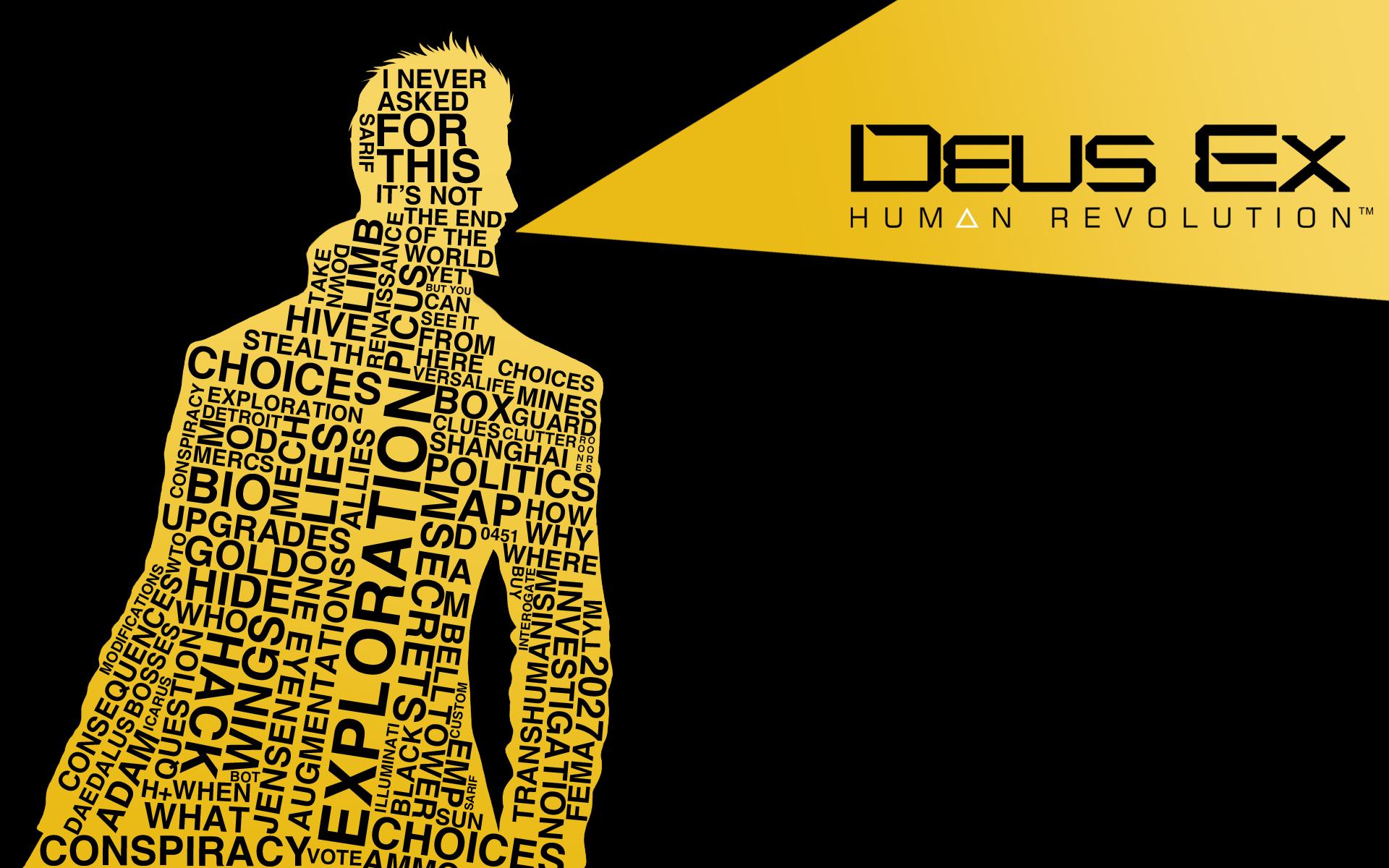 Deus Ex Wallpaper imghumour 1920x1200
