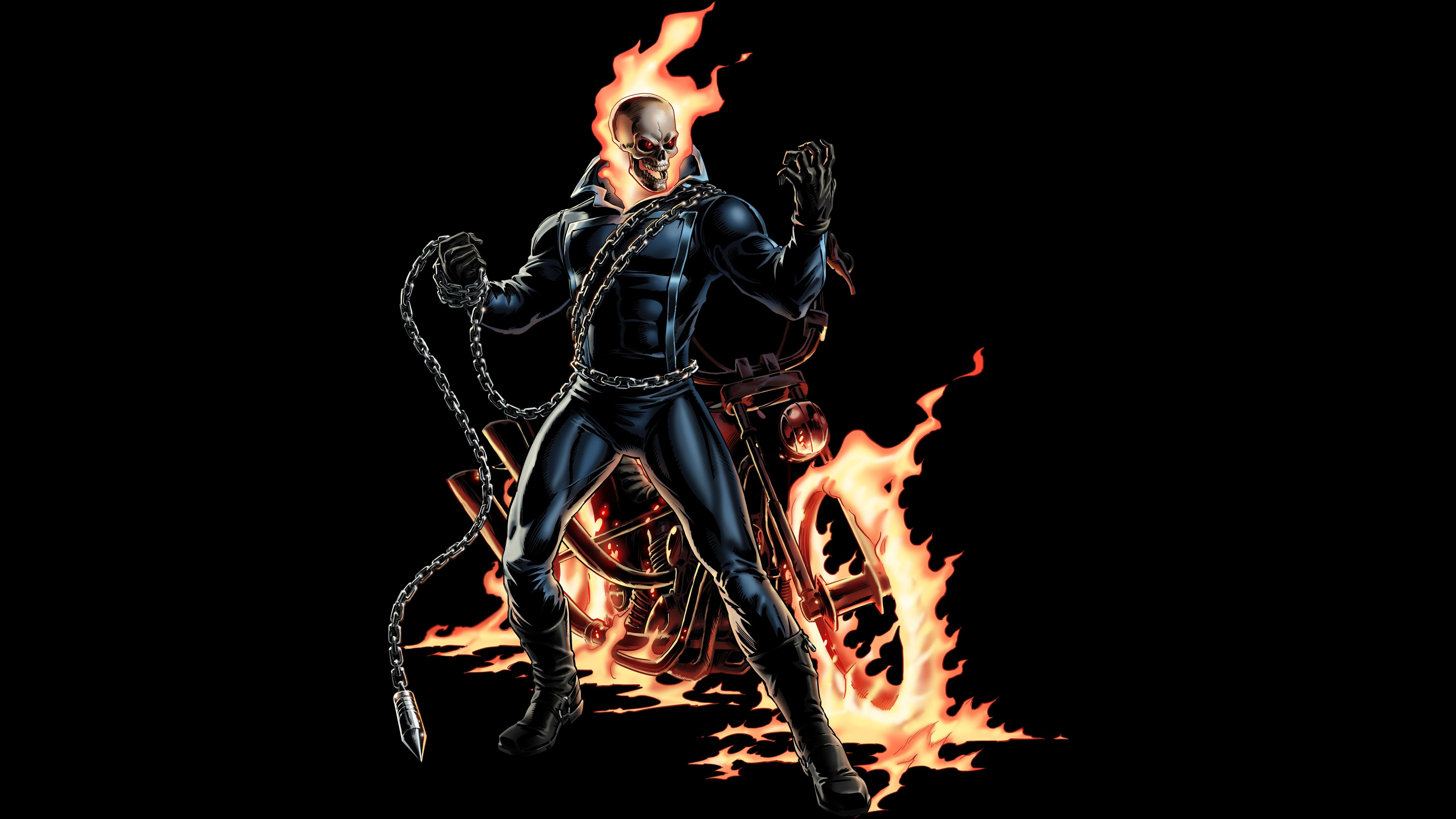 Ghost Rider Computer Wallpapers Desktop Backgrounds 5300x2981 ID 5300x2981