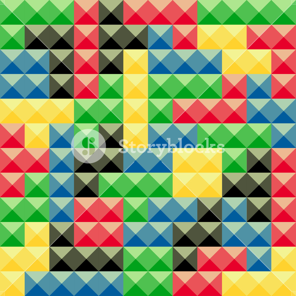 Colorful tetris pieces abstract background Plastic construction 1000x1000