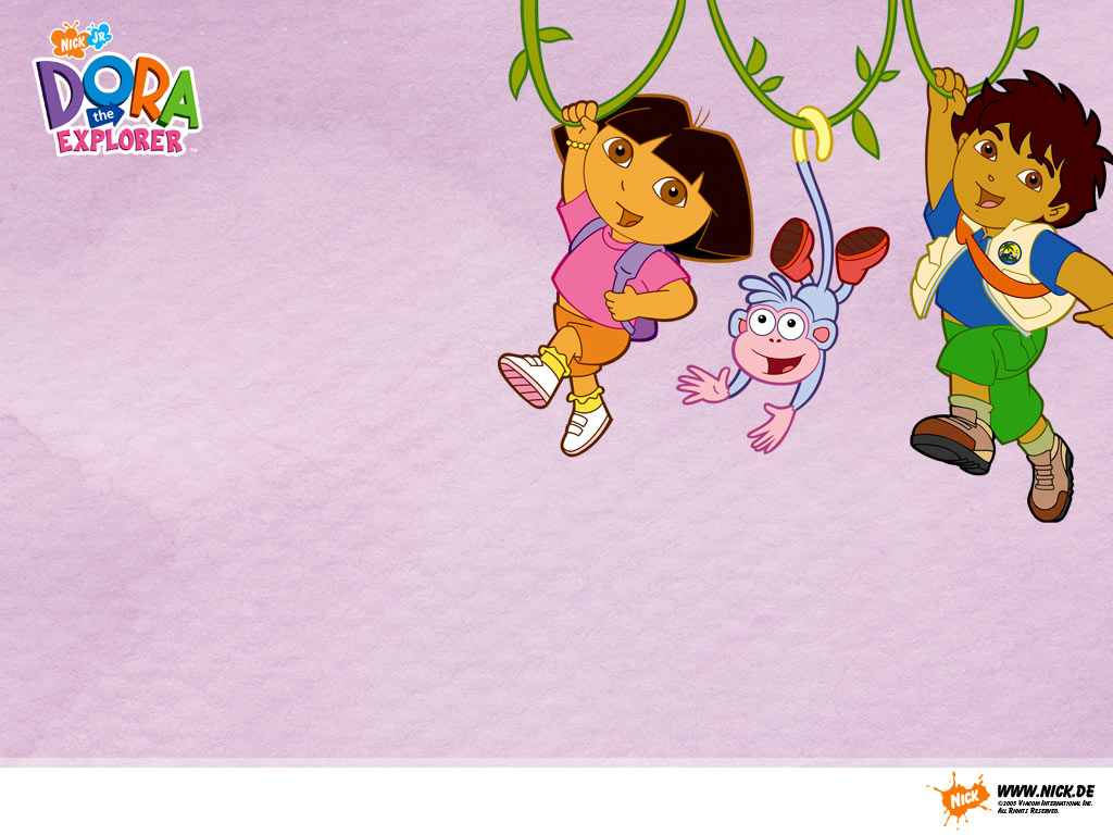 dora the explorer   Movies TV Shows Wallpaper 28233575 1024x768