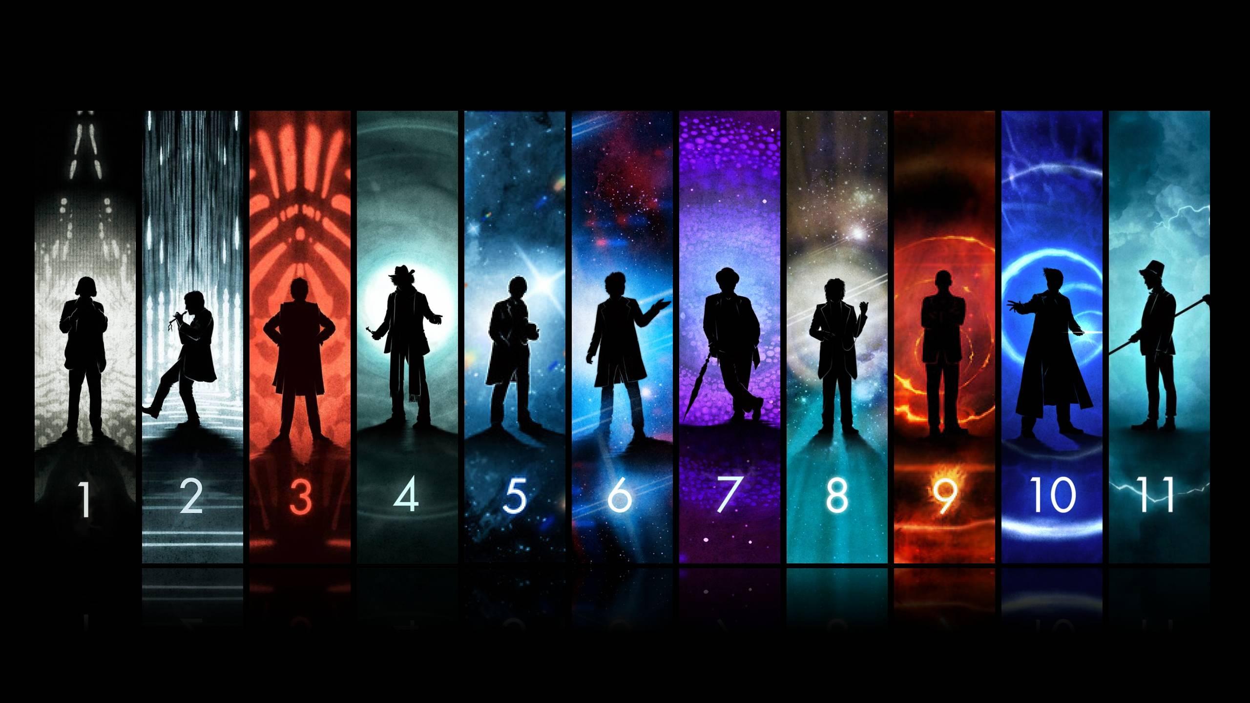 The Doctors by Matt Ferguson Art doctorwho 2560x1440