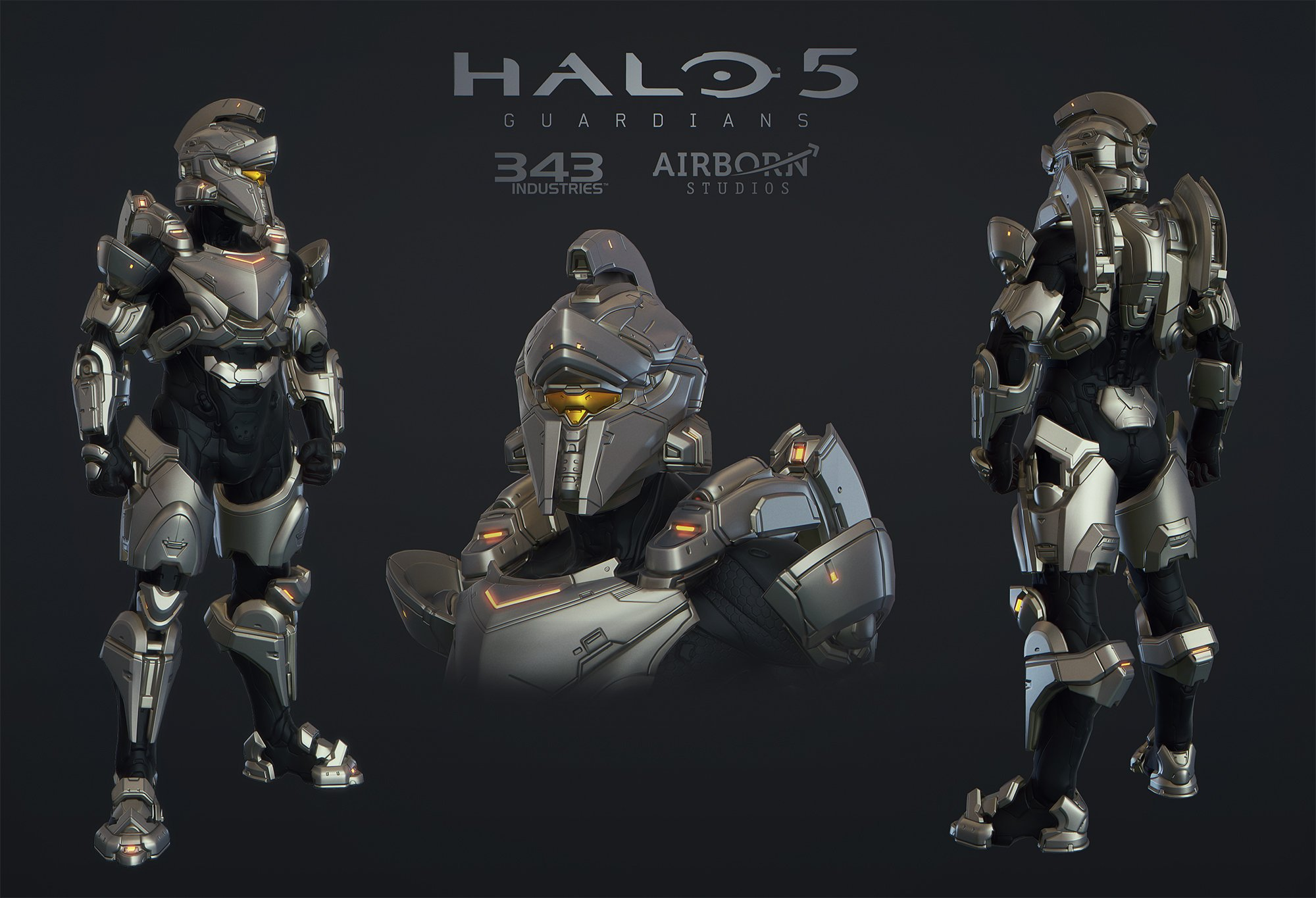 Halo 5 Multiplayer Armor Achilles by polyphobia3d 2000x1365