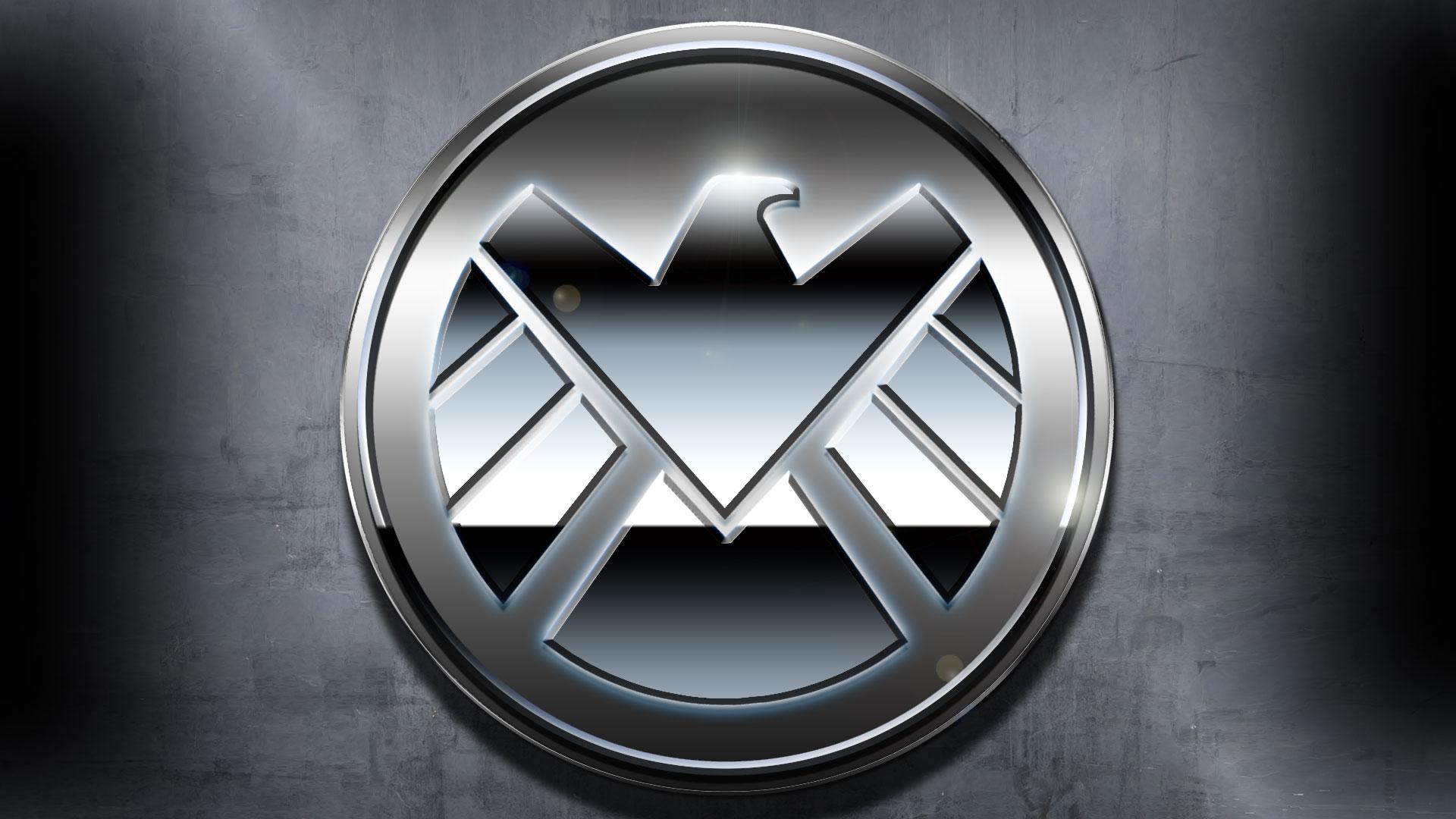 Marvel Shield Logo Wallpaper Wallpapersafari