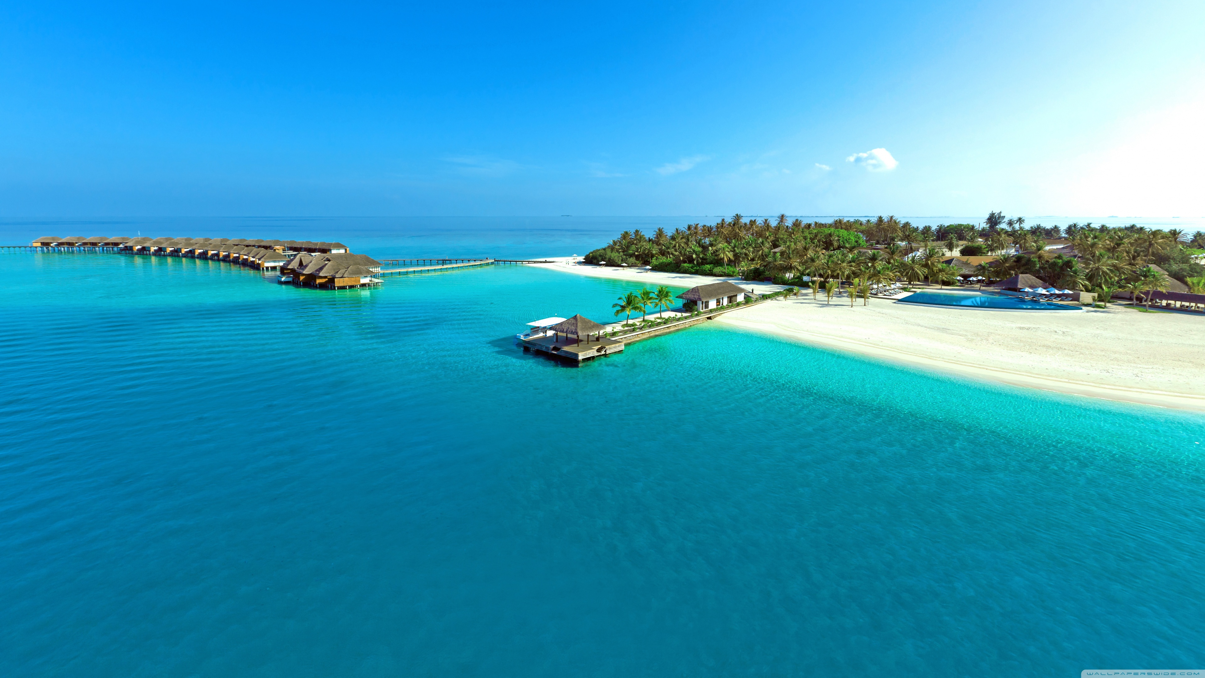 Tropical Island Paradise HD Wallpaper WallpaperListsCOM 3840x2160