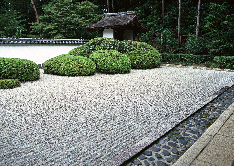 Japanese zen garden wallpaper wallpapersafari for Landscape gardeners