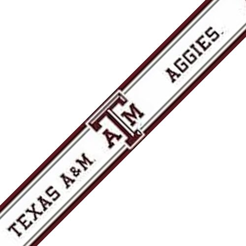 NCAA Texas AM Aggies Prepasted Wallpaper Accent Border Roll   Modern 500x500