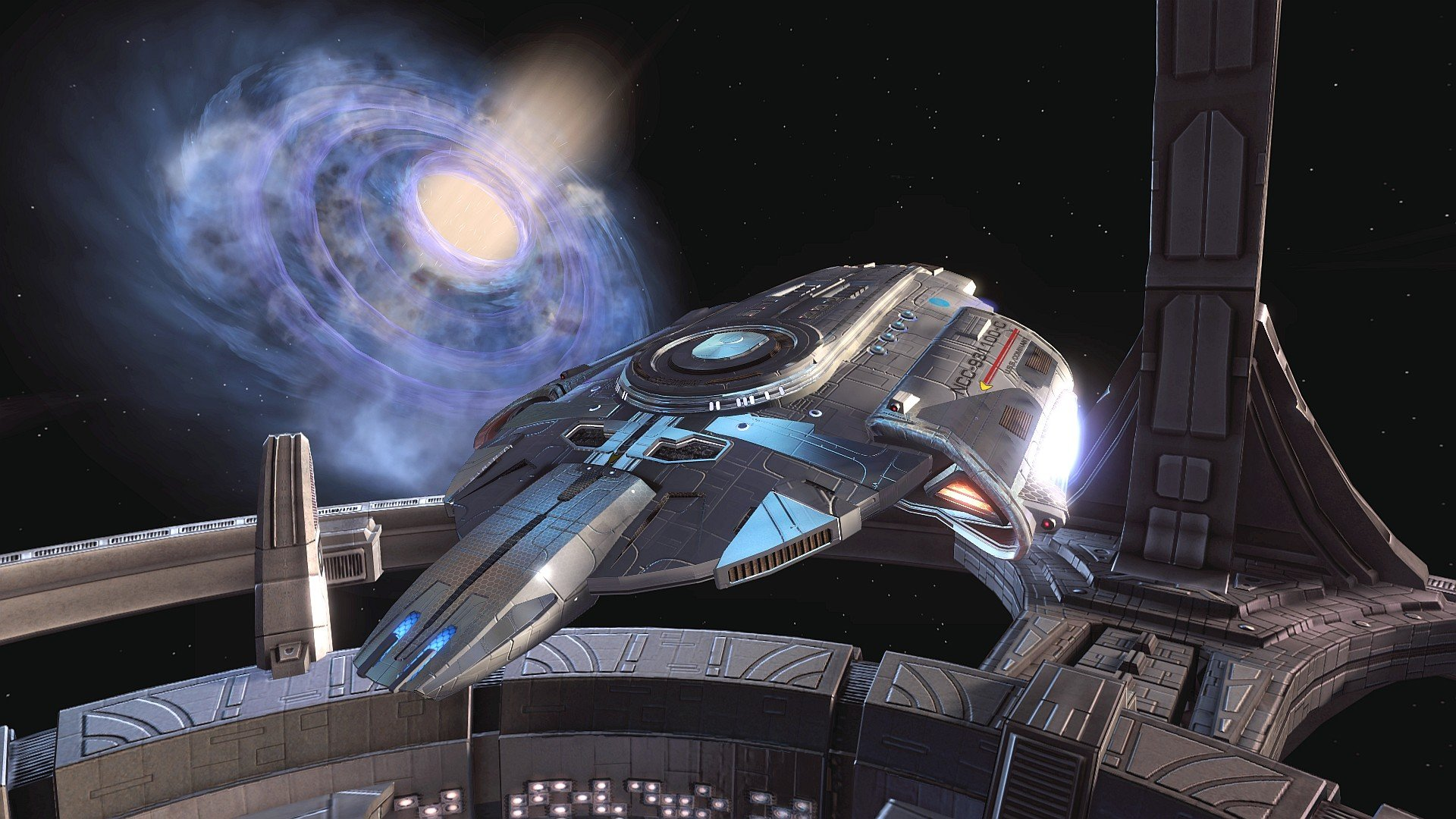 DEEP SPACE NINE Star Trek futuristic television sci fi spaceship 11 1920x1080