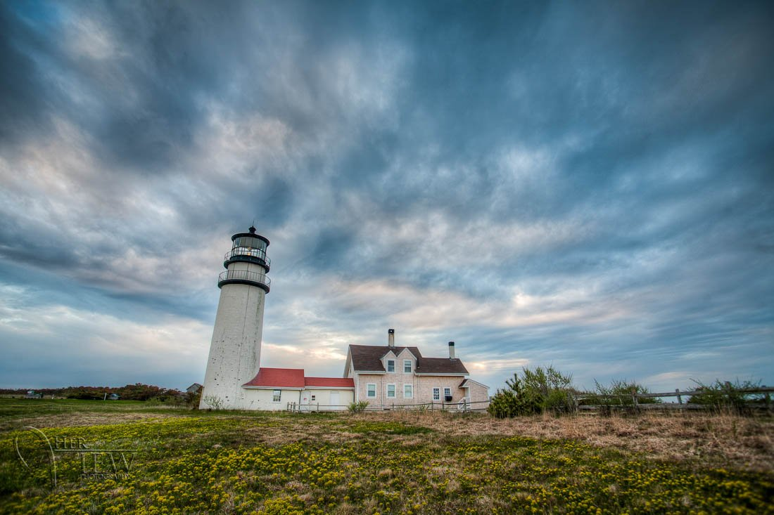 Wallpaper for October 2012 Cape Cod Lighthouse 1100x733