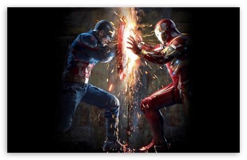 Captain America Civil War HD wallpaper for Standard 43 54 Fullscreen 510x330