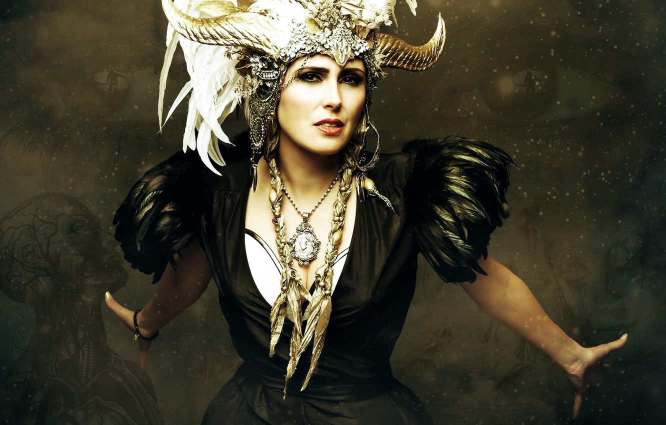 Wallpaper Within Temptation Symphonic Metal Sharon Den Adel 1332x850