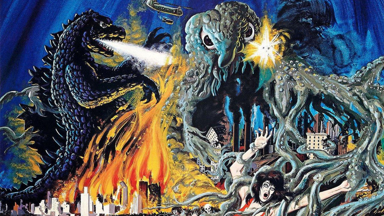 Godzilla Vs Hedorah Gojira tai Hedora Godzilla vs the Smog Monster 1280x720