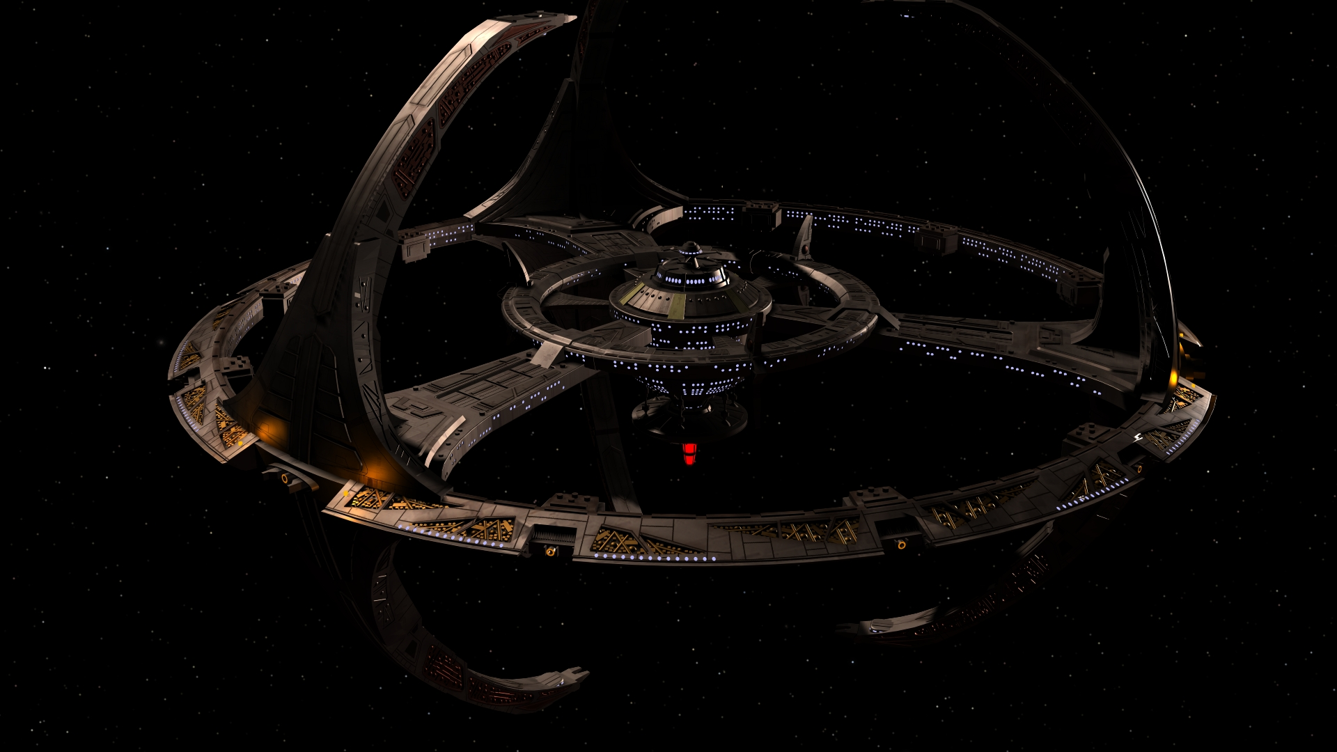 Star Trek Deep Space Nine 20 Years by enterprisedavid 1920x1080
