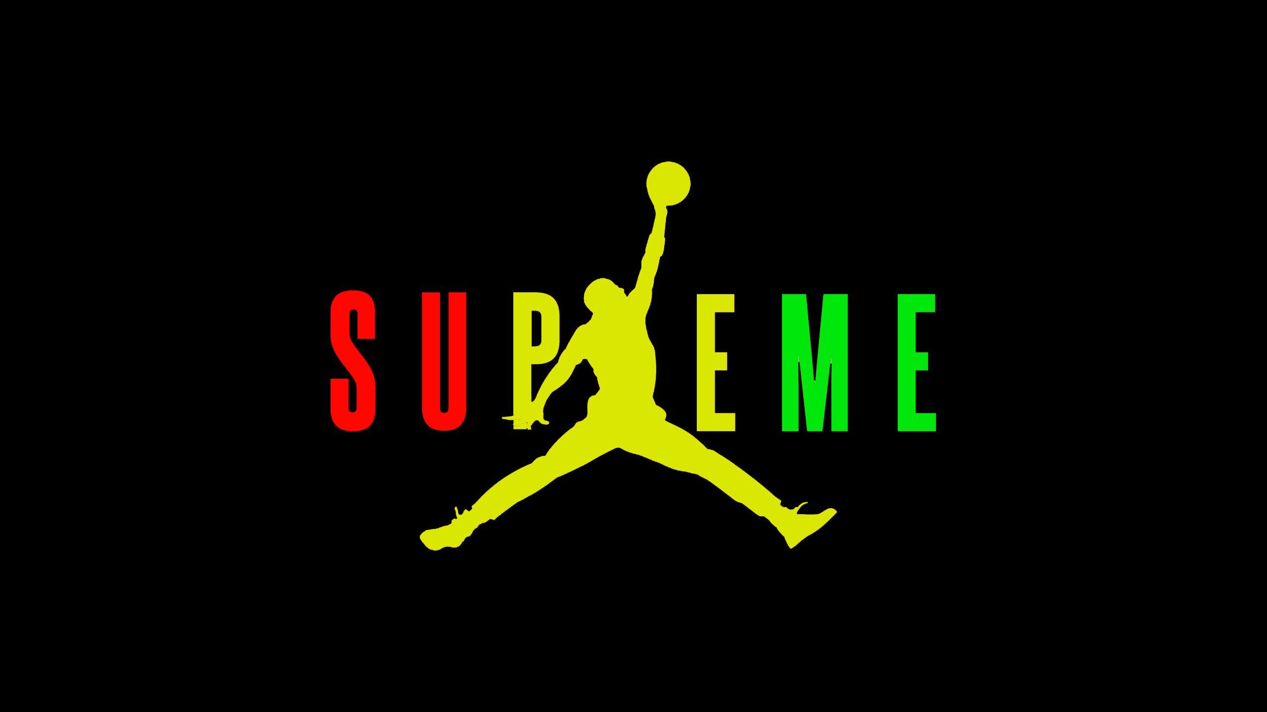Supreme Jordan Wallpapers   Top Supreme Jordan Backgrounds 2560x1440