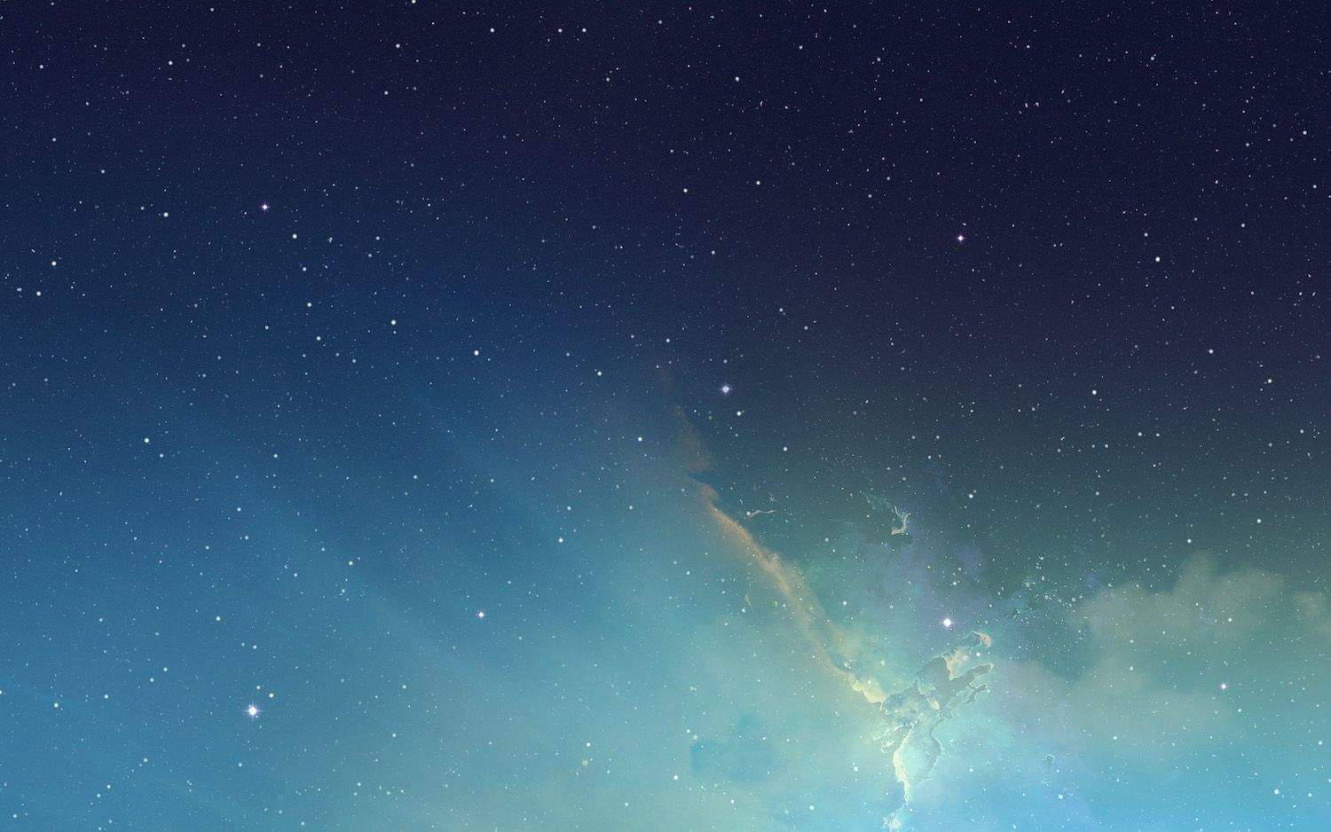 Get iOS 7s Gorgeous Nebula Wallpaper For Your Mac Cult of Mac 1500x938