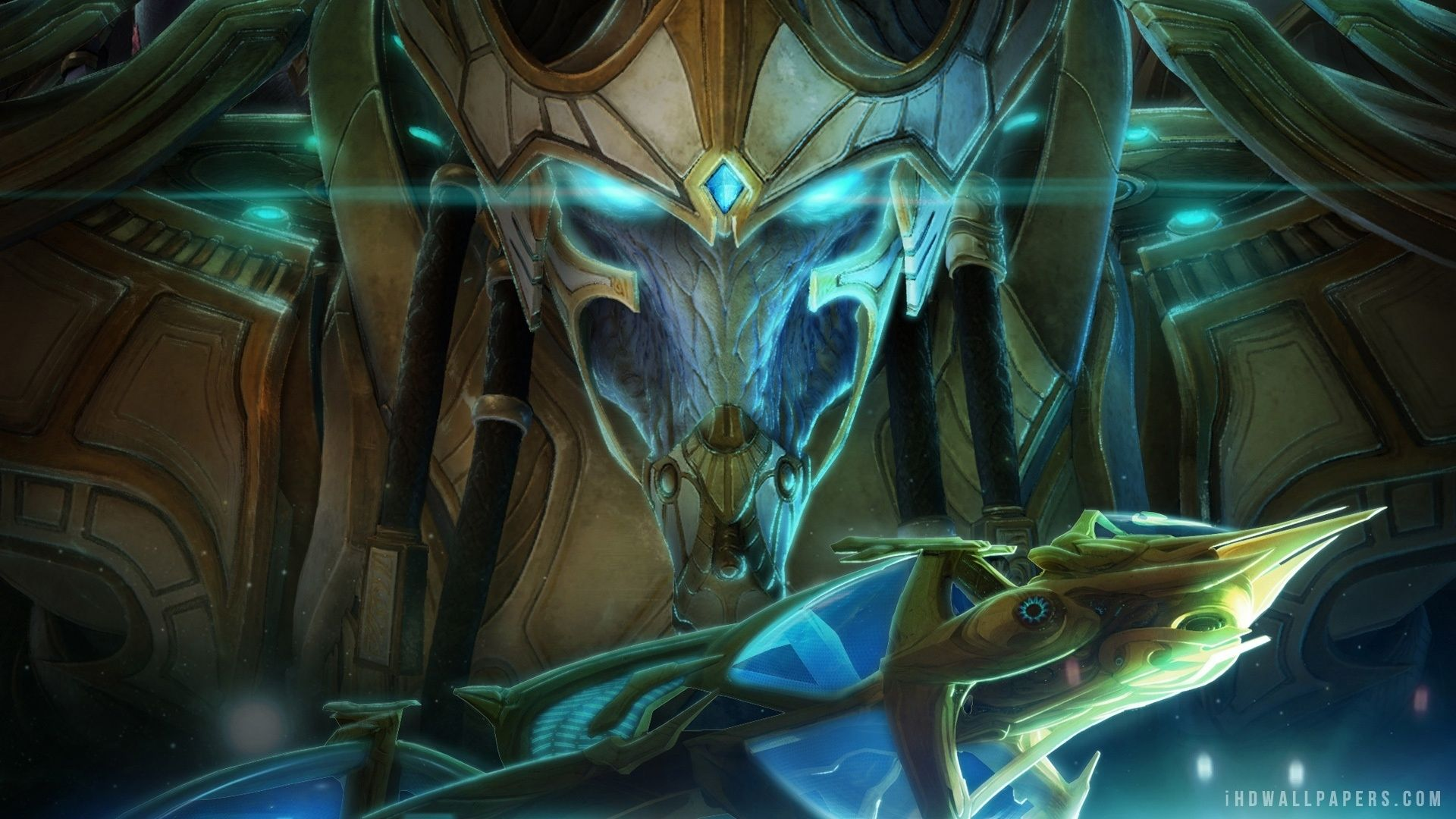 Starcraft 2 Protoss Wallpaper Hd posted by Ethan Sellers 1920x1080