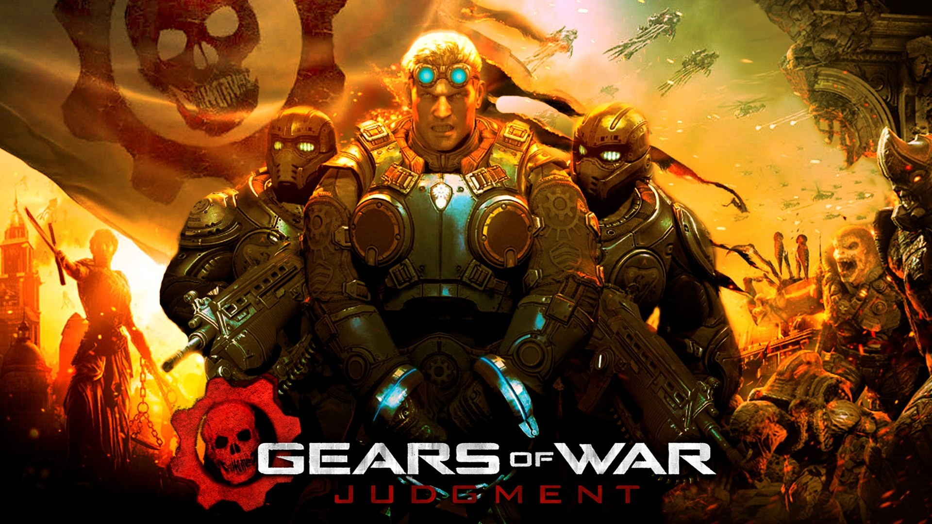 71 Gears Of War Judgement Wallpaper On Wallpapersafari