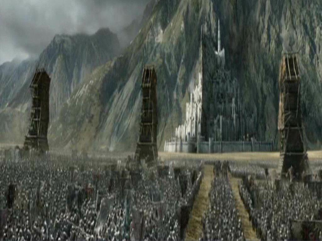 Free Download Minas Tirith Wallpapers 1024x768 For Your