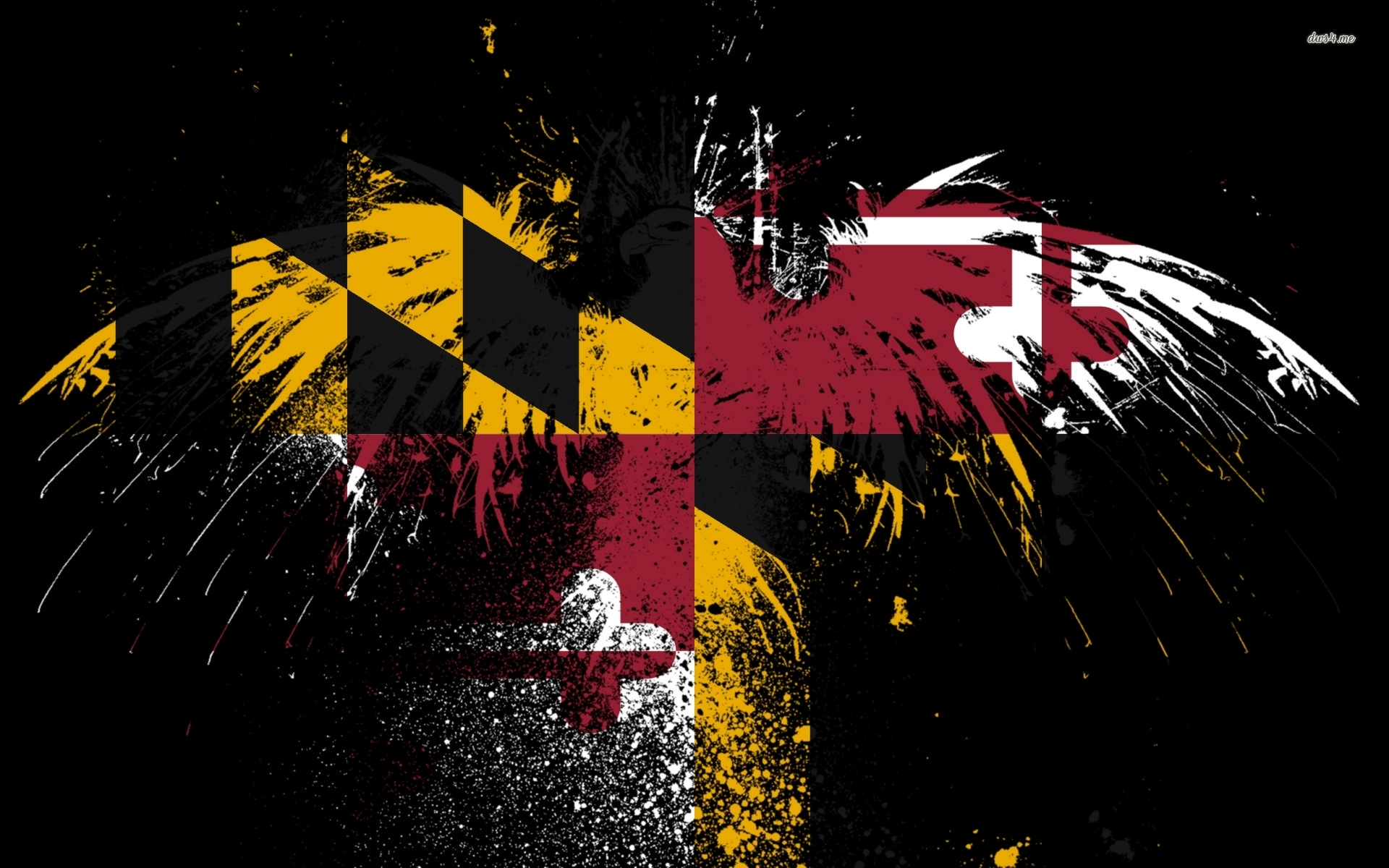 Flag of Maryland wallpaper   Artistic wallpapers   40448 1920x1200