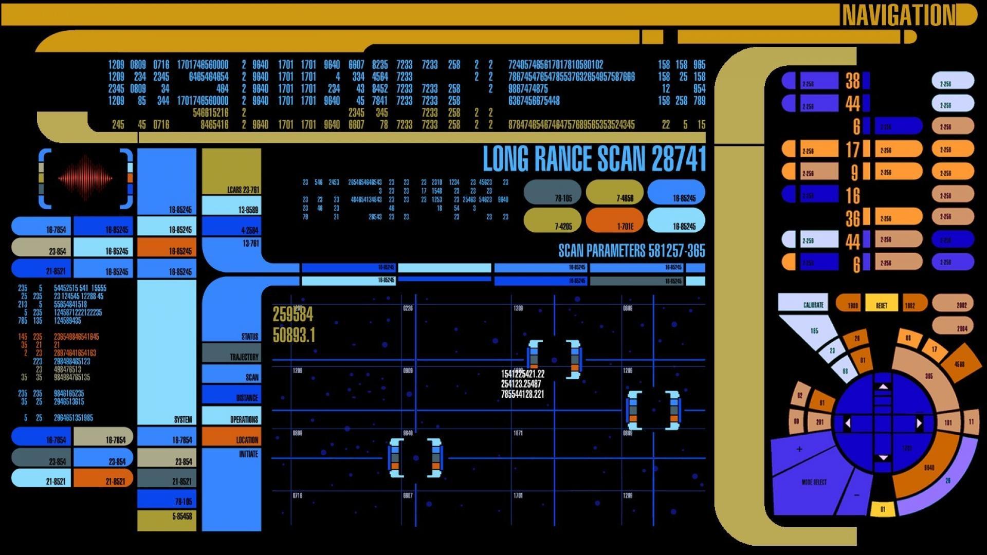 Star Trek LCARS Wallpaper - WallpaperSafari Computer Science Wallpaper 1920x1080