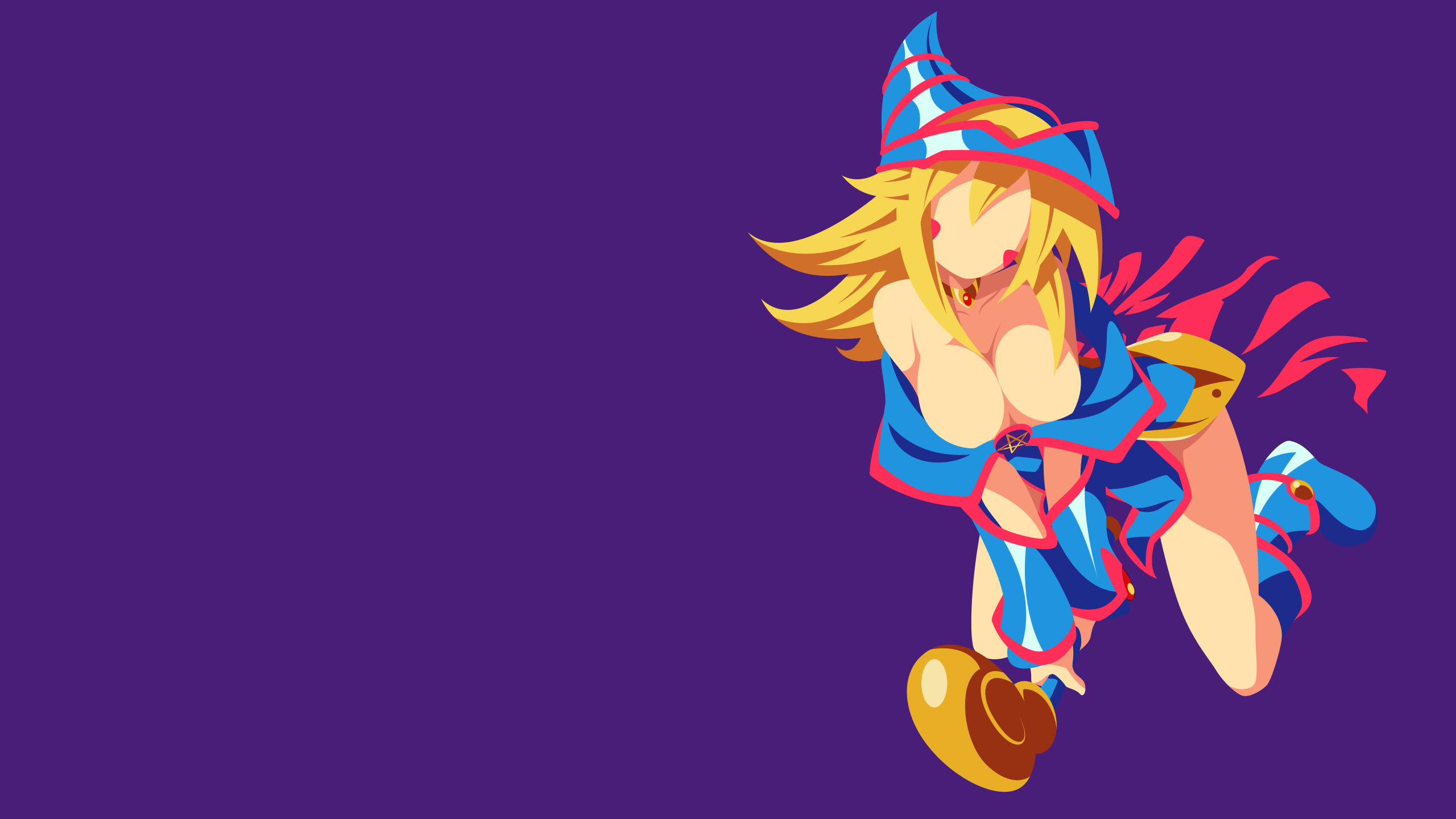 Free Download Yugioh Dark Magician Girl Minimalism Wallpaper By 2560x1440 For Your Desktop Mobile Tablet Explore 73 Dark Magician Wallpaper Dark Demon Wallpaper Yu Gi Oh Dark Magician Wallpaper