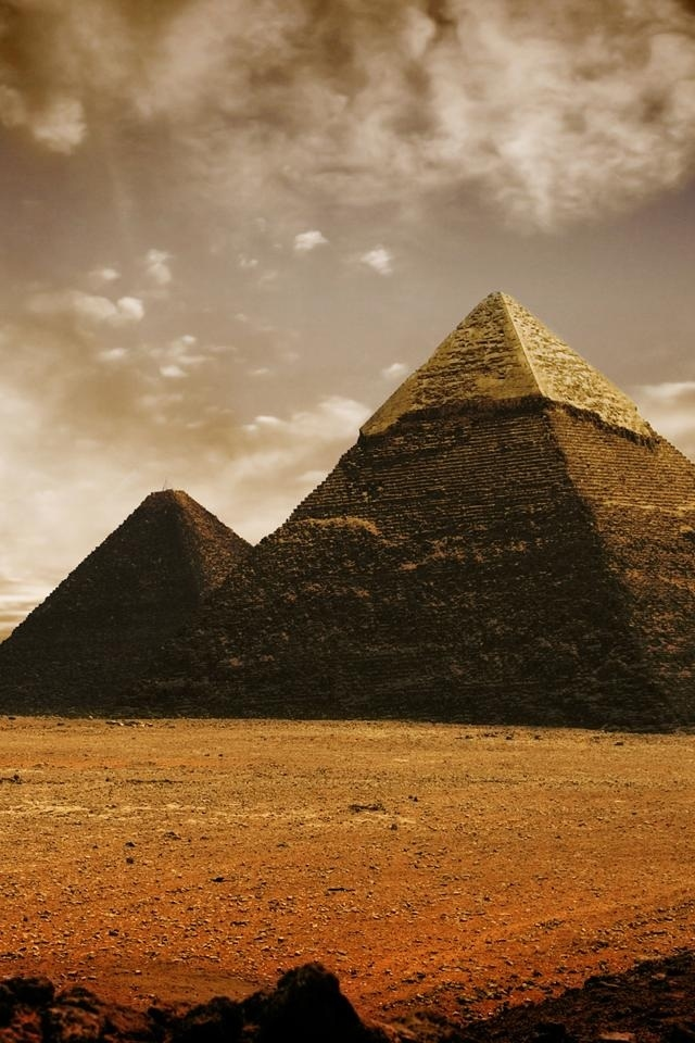 hd The pyramids of Egypt iphone 4 wallpapers backgrounds