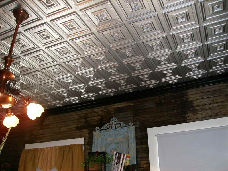 Ceiling Tiles That Look Like Tin Chic