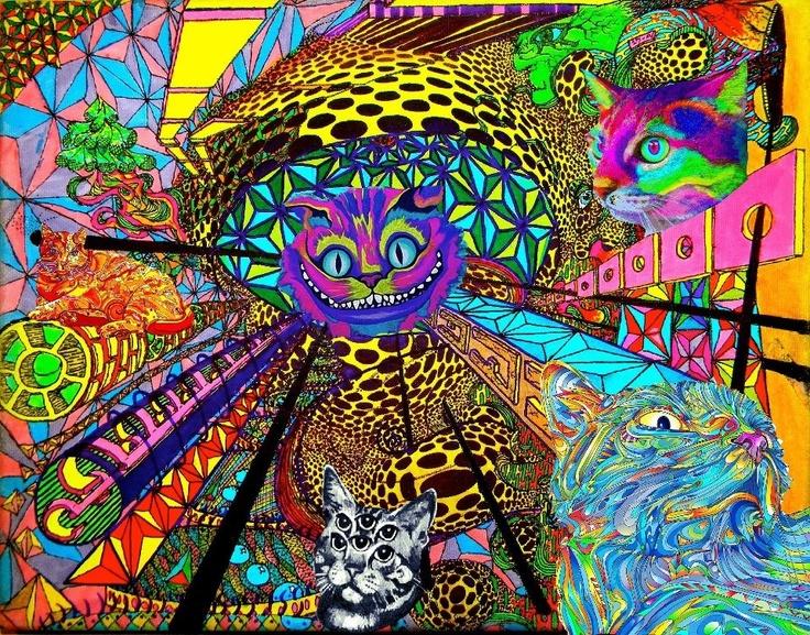 trippy cat wallpaper hd - photo #22