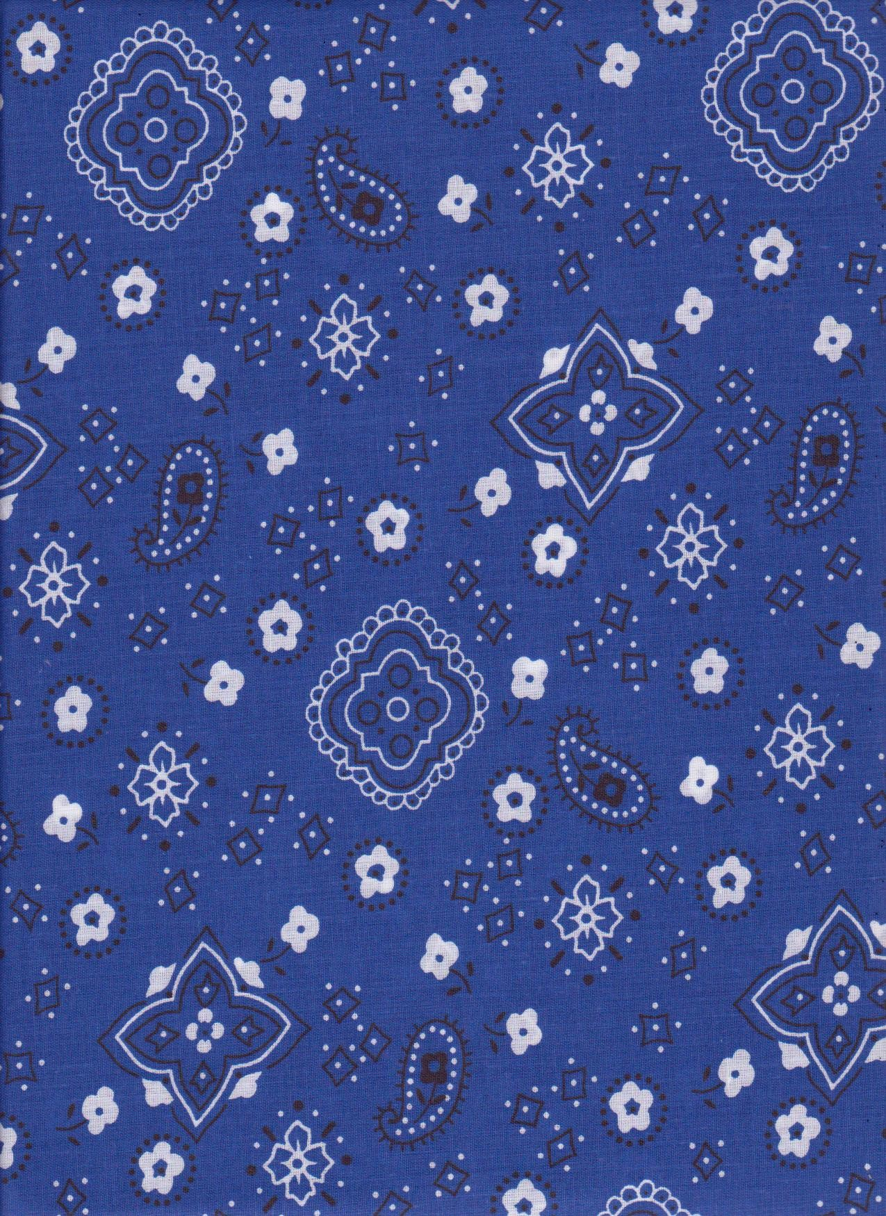 Viewing Gallery For   Royal Blue Bandana 1275x1750