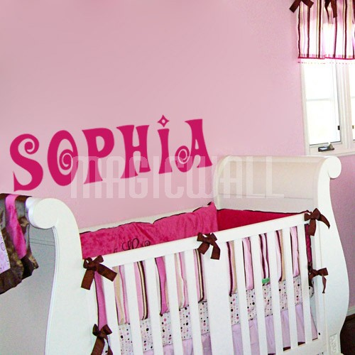 Home Personalized Name Monogram Wall Decals Stickers 500x500