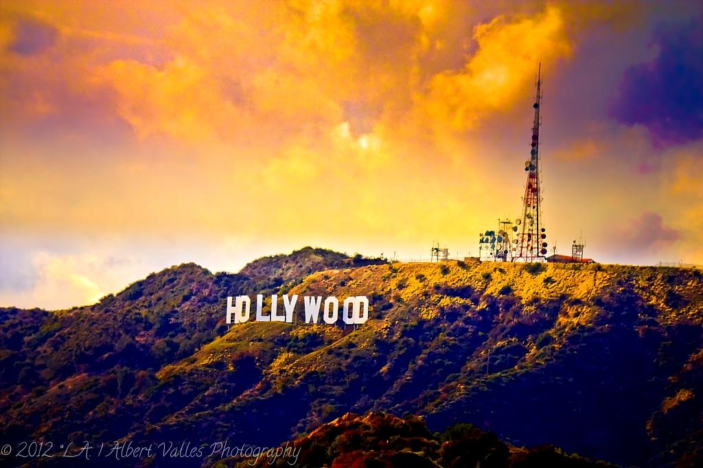 Gallery Hollywood Sign Night Wallpaper bianoticom 1024x682