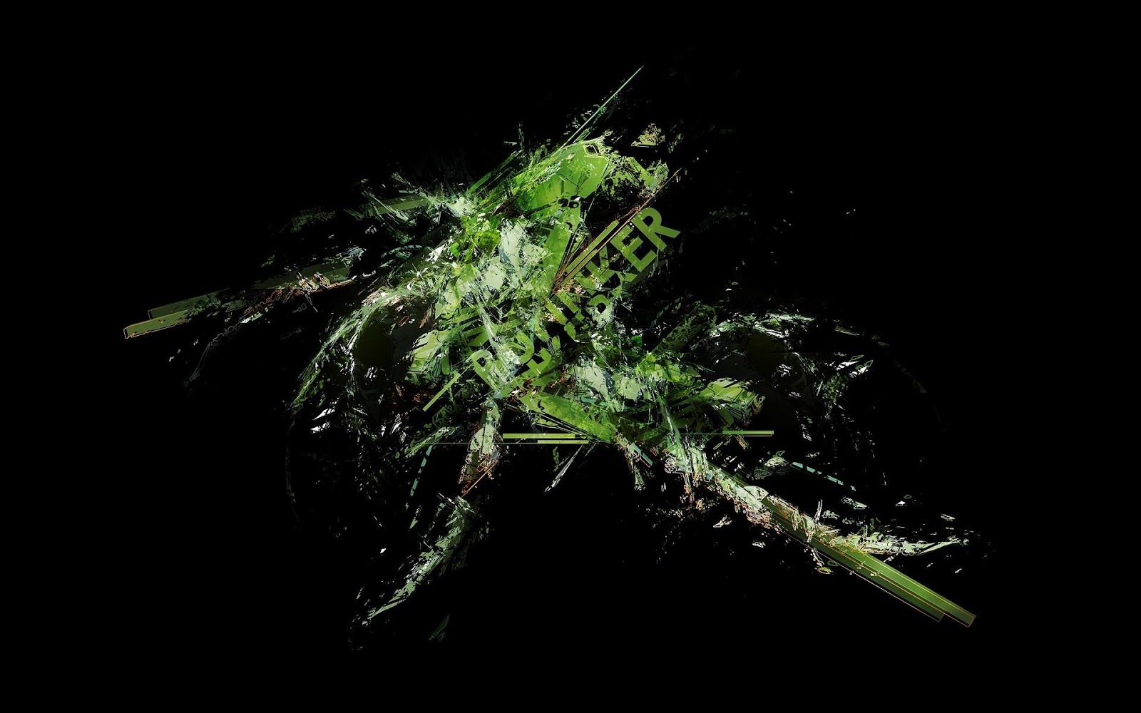 Abstract Green Black Download 1920x1200 1600x1000