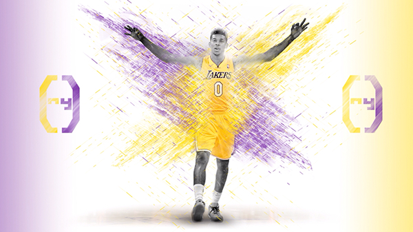 Nick Young Wallpaper on Behance 600x337