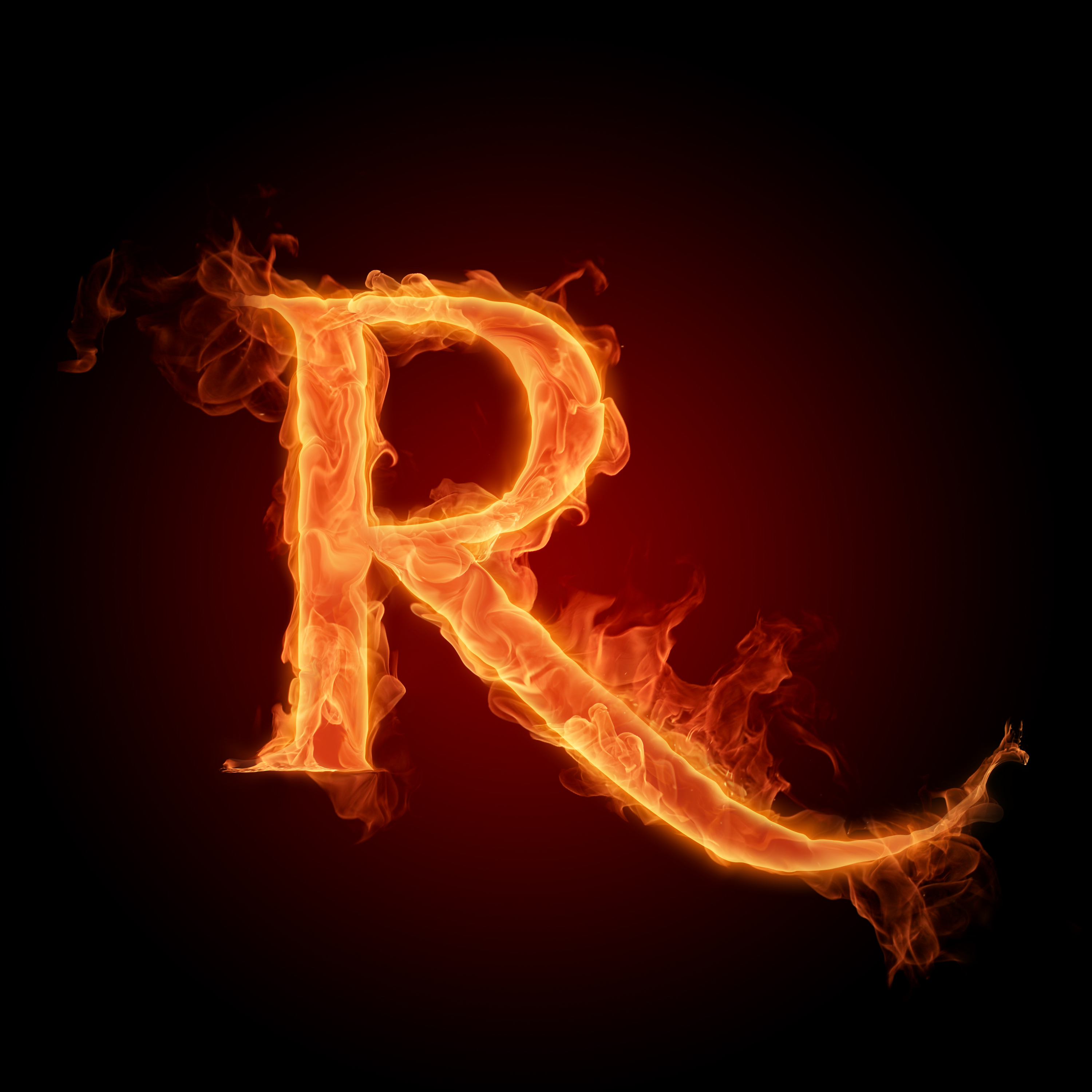 Fire Letters Wallpapers HD 3000X3000 Photo 4 of 6 3000x3000